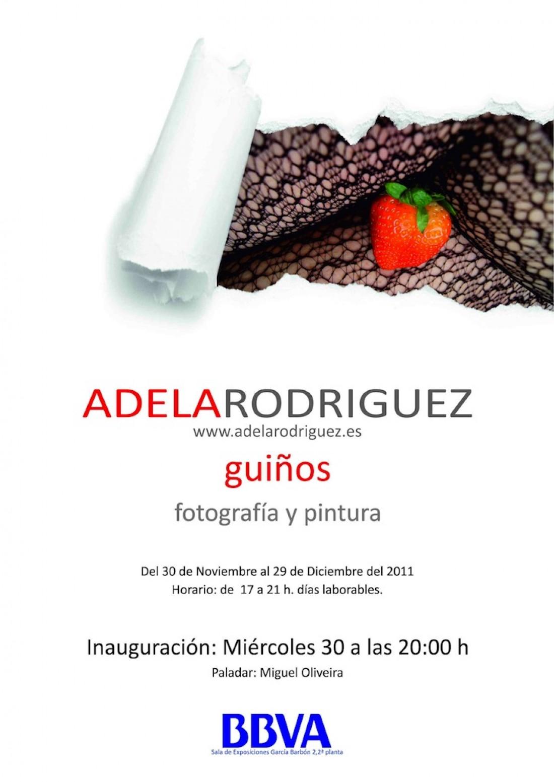 Adela Rodriguez - Exposición Guiños