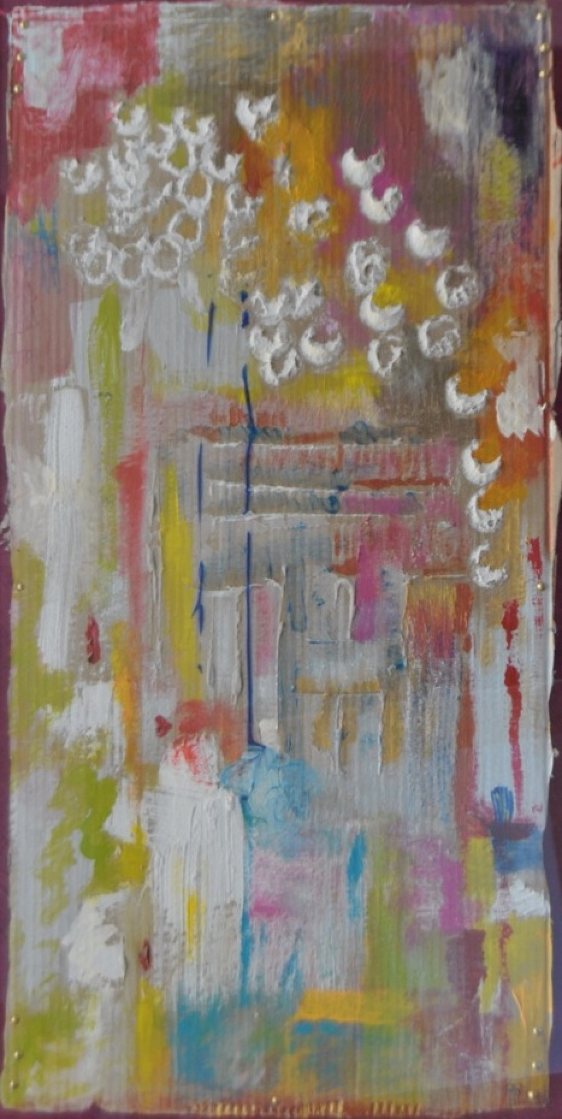 Adela Rodriguez - Farolillos en una galeria