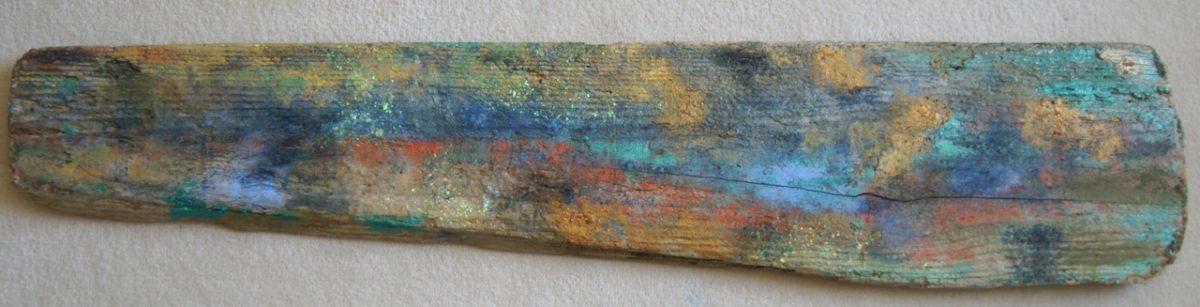 Rastros de una puesta de sol, madera marina Adela Rodriguez