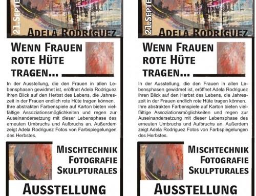 Exposición Hannover: Herbst, Frauen, Los! Wenn Frauen rote Hüte tragen