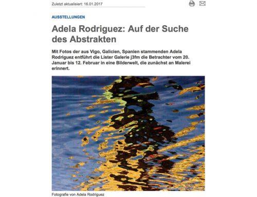 Adela Rodriguez: Auf der Suche des Abstrakten